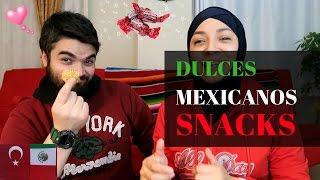 ►TURCO PRUEBA DULCES MEXICANOS | MEXICANA EN TURQUIA | Meksika Şekerleri