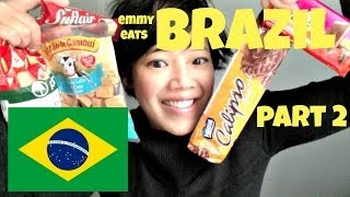 Emmy Eats Brazil part 2 - tasting more Brazilian treats