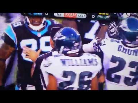 Steve Smith slams Cary Williams to the ground lol