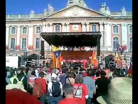 Occitan Manifestation in Toulouse (Organizers speech)