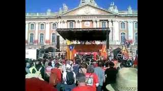 Occitan Manifestation in Toulouse (Organizers speech)