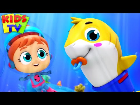baby-shark-from-the-sea-|-daddy-shark-|-mommy-shark-|-kids-tv-nursery-rhymes