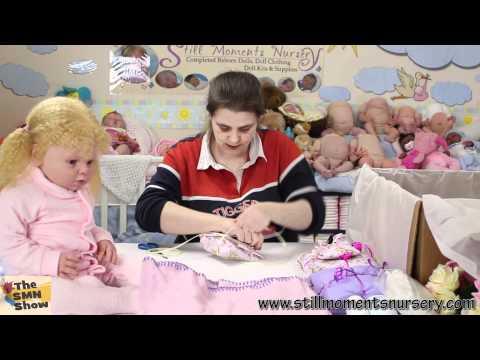 Reborn toddler doll Teaghan Jo-Hanna Box Packing - The SMN Show #279