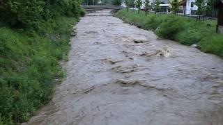Hochwasser in Voitsberg - Kainach - 15. Mai 2018