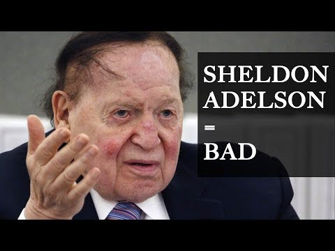 The Man Behind the Republican Party: Sheldon Adelson
