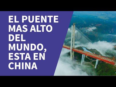 El puente más alto del Mundo, está en China.