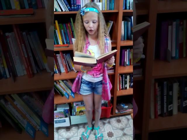 Изображение предпросмотра прочтения – ИринаГавриленко читает отрывок изпроизведения «Дед Мазай и зайцы» Н.А.Некрасова