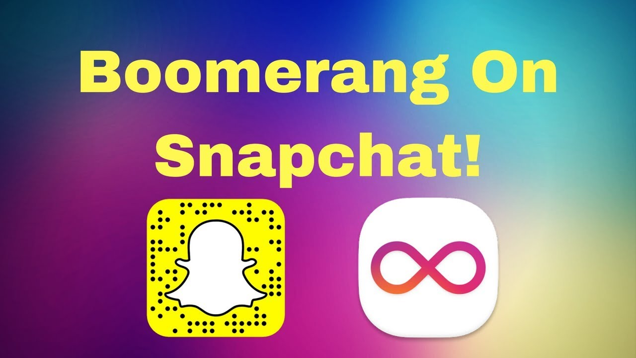 Snapchat How To Get Boomerang Video Hack Youtube