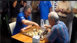 Yasser Seirawan vs Garry Kasparov: Sinquefield Chess Cup Ultimate Moves Live