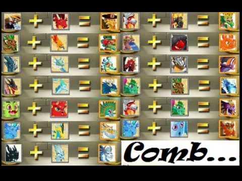 Combinaciones De Dragones Para Dragon City