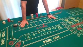Low Risk Craps Strategy!