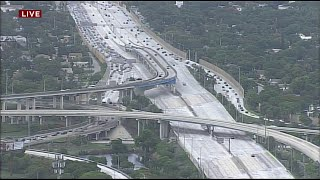 Miami protest prompts shutdown of Interstate 95 section