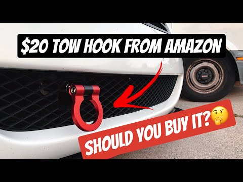 How to install a Tow Hook on your Infiniti G37 (ANY CAR)