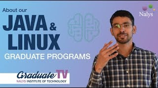 About our Linux and Java graduate programs | Graduate TV 01 | Nalys consulting
