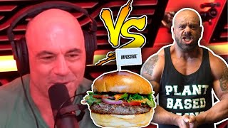 Joe Rogan's Beef With Vegan Meat