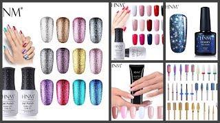 Гель лаки с блестками HNM/ Распаковка ногтевых посылок