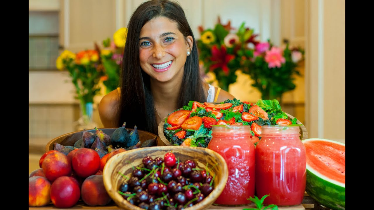 What FullyRaw Kristina Eats in a Day (Summer Edition ...