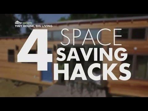 4 Space-Saving Hacks | Tiny House, Big Living | HGTV Asia