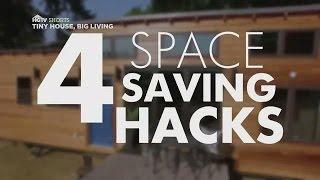 4 Space-saving Hacks   Tiny House, Big Living   Hgtv Asia