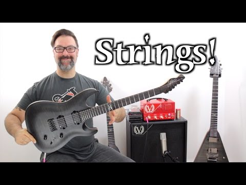 Top Four Qualities I Look For In Electric Guitar Strings