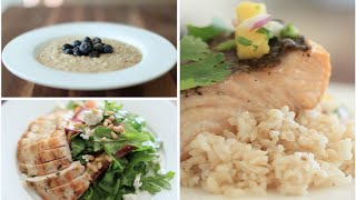 ♥ My 3 FAVE Healthy Meals (Breakfast, Lunch & Dinner) ♥ Thumbnail