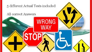 2015 California DMV written tests - 5 different tests #2