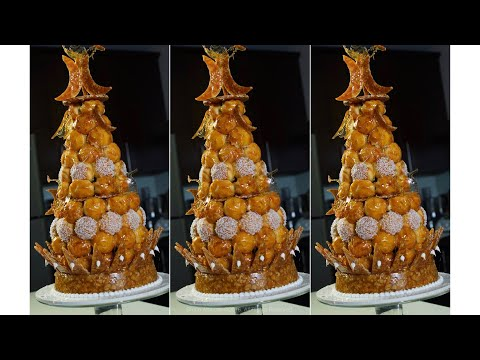 How To Make Croquembouche Part2 – Bruno Albouze – THE REAL DEAL