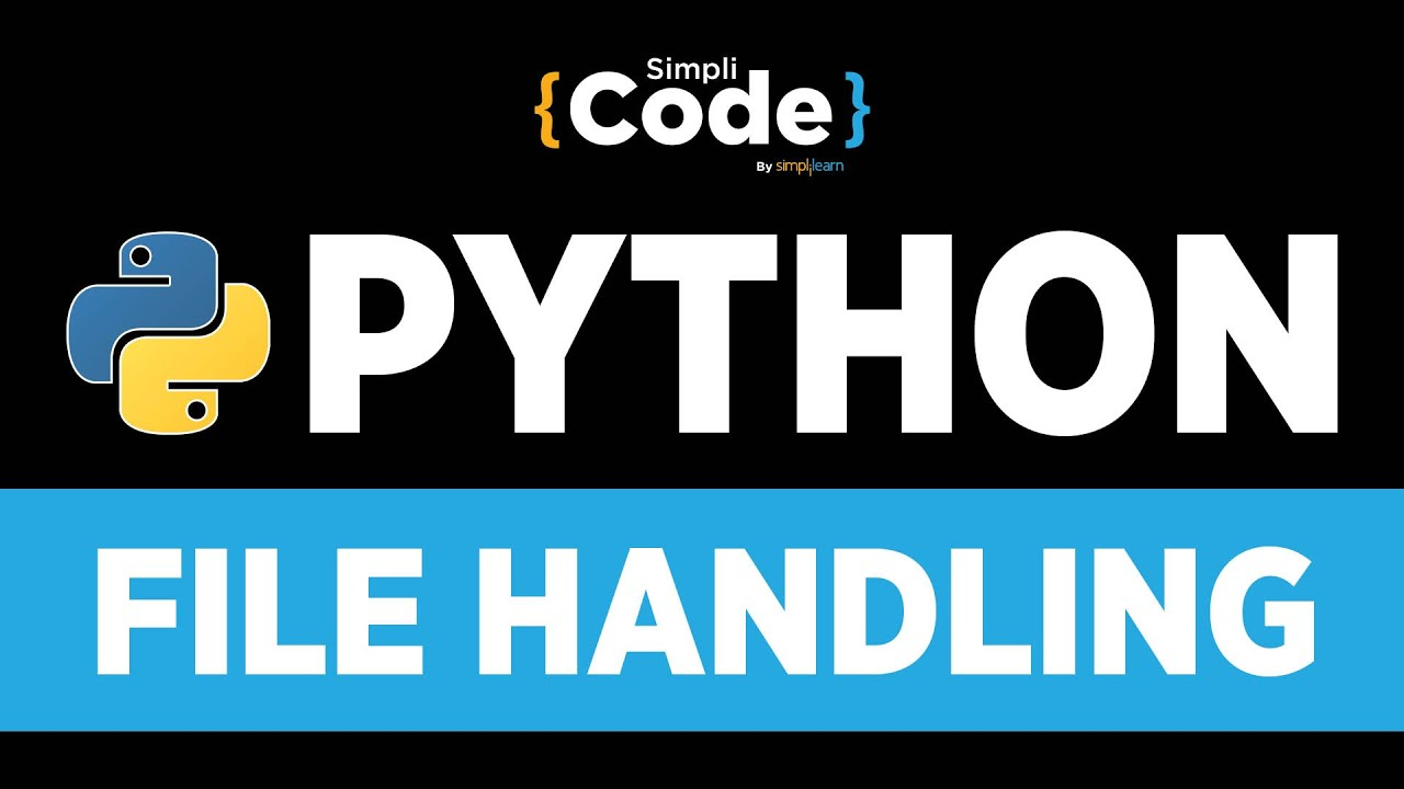 Python Tutorial For Beginners   Python File Handling Tutorial   File Operations In Python