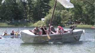 2012 Cardboard Boat Race, Brethren Michigan