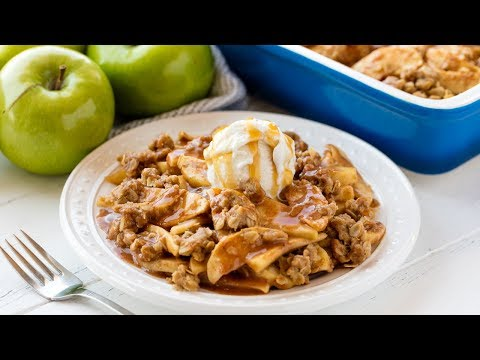 How to Make The Best Ever Apple Crisp | The Stay At Home Chef