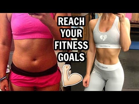 HOW TO MAKE & REACH YOUR FITNESS GOALS