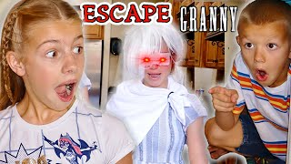 Granny The BabySitter! Sisters Left Granny In Charge of 4 Tannerites Kids!
