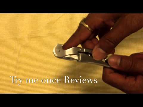 enfain 3 in 1 wine bottle opener review try me once reviews youtube. Black Bedroom Furniture Sets. Home Design Ideas