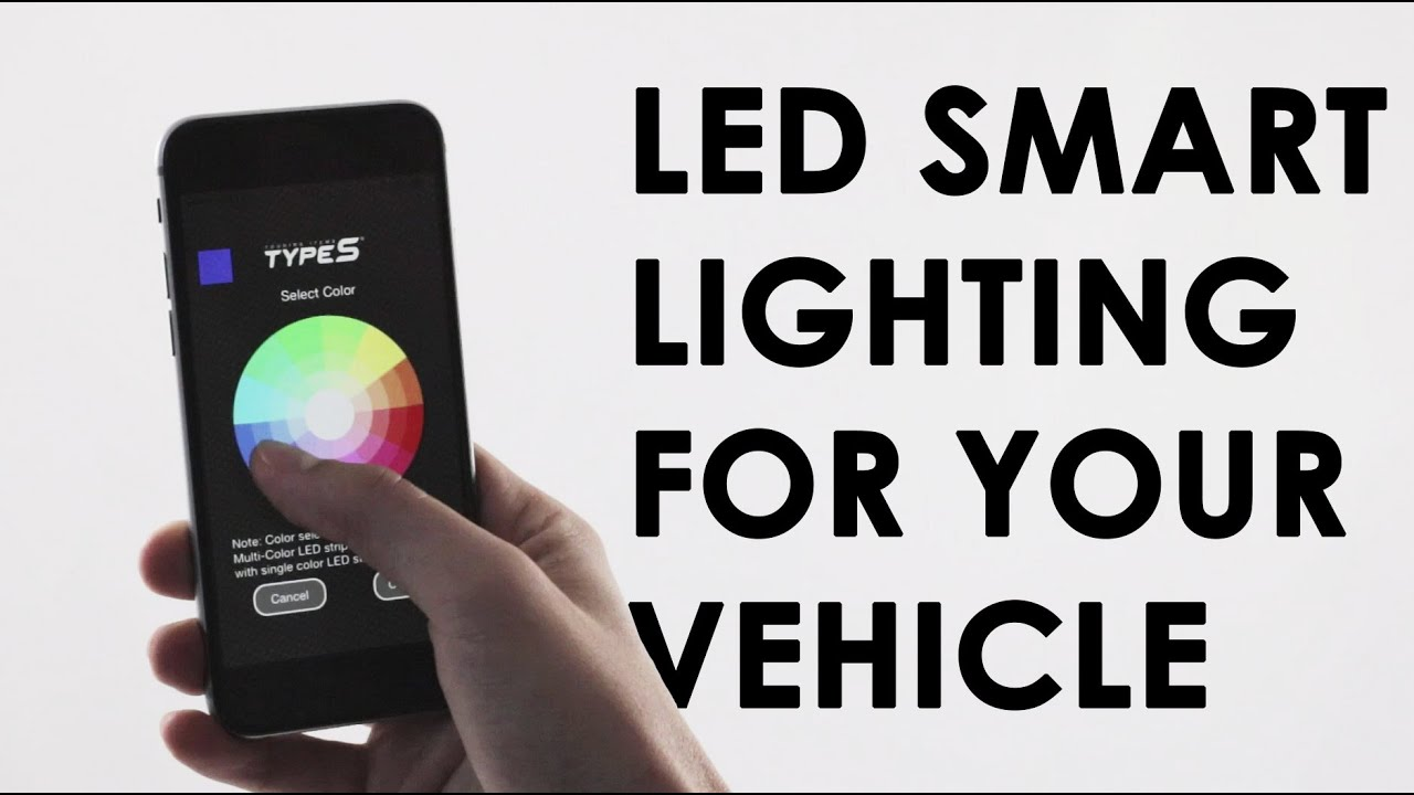 Type S Plug Glow Led Smart Lighting For Your Vehicle