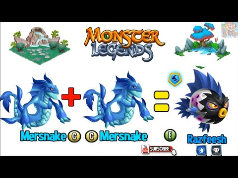 HOW TO 55 BREED EPIC FREE In MONSTER LEGENDS