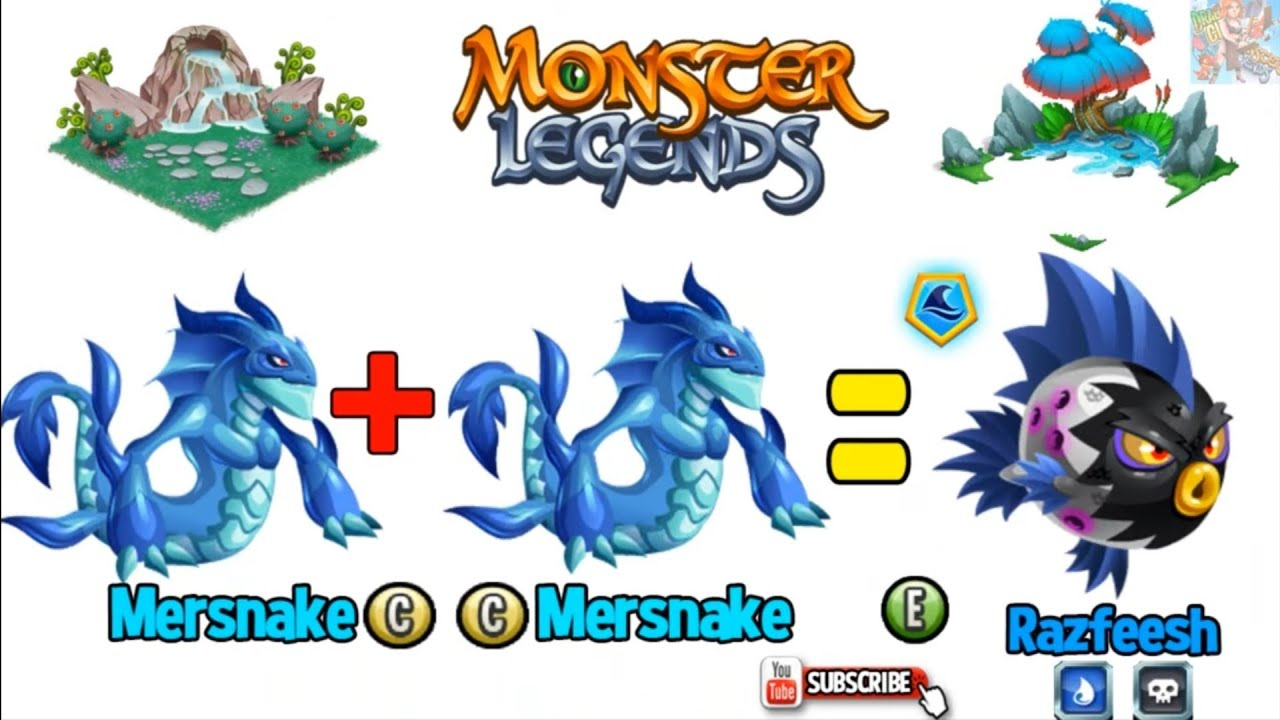 How To 55 Breed Epic Free In Monster Legends Youtube