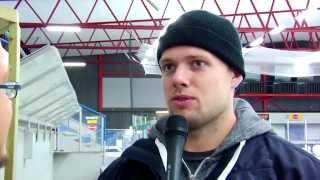 Highlights från Borlänge HF Haninge med intervjuer 20140817
