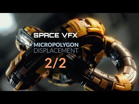 Blender Tutorial: Micropolygon Displacement Basics Part 2/2