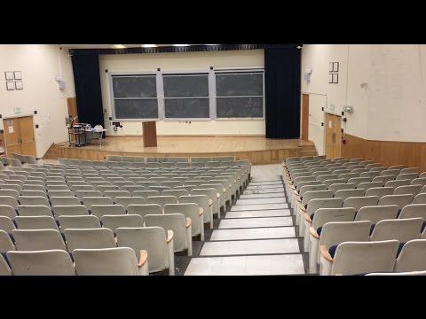 What Does a College Lecture Hall Look Like?