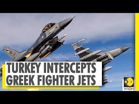 Turkish intercepts six F-16 Greek fighters over Mediterranean Sea   WION News   World News