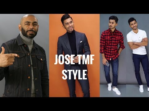 How To Dress Like And Style Break Down Of Jose From TeachingMensFashion