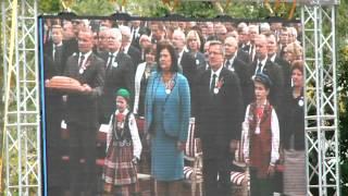 Spała 2012 - Dożynki prezydenckie