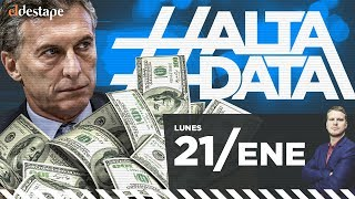Macri deberá devolver lo robado | #AltaData, todo lo que pasa en un toque