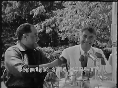 Leonard Bernstein and Duke Ellington on Classical/Jazz Synthesis