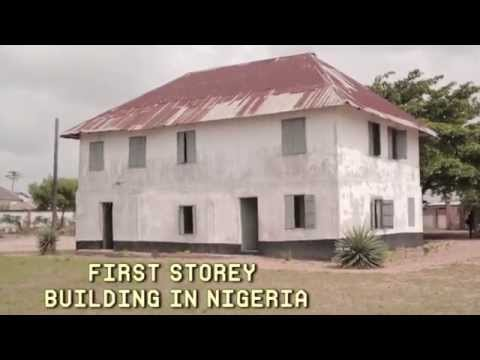 First Storey Building In Nigeria - YouTube