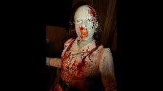 Прикольный и интересный фото грима для фильмов ужасов