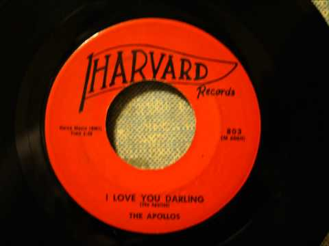 Apollos - I Love You Darling - Monster NJ Doo Wop Ballad