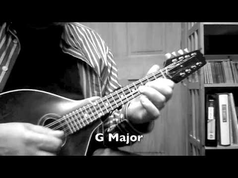 Mandolin Lesson - All 12 keys in first position