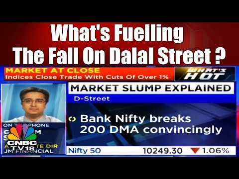 What's Causing the Fear on Dalal Start? | Nifty Closes at Fresh 2018 Low | What's Hot | CNBC TV18