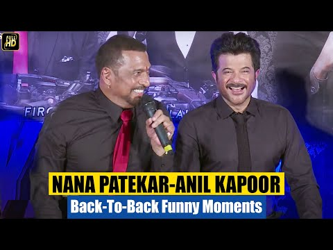 Anil Kapoor, Nana Patekar & John Abraham FUNNY Comedy At Welcome Back Trailer Launch